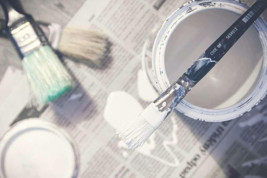 painting touch up to prepare your home to sell