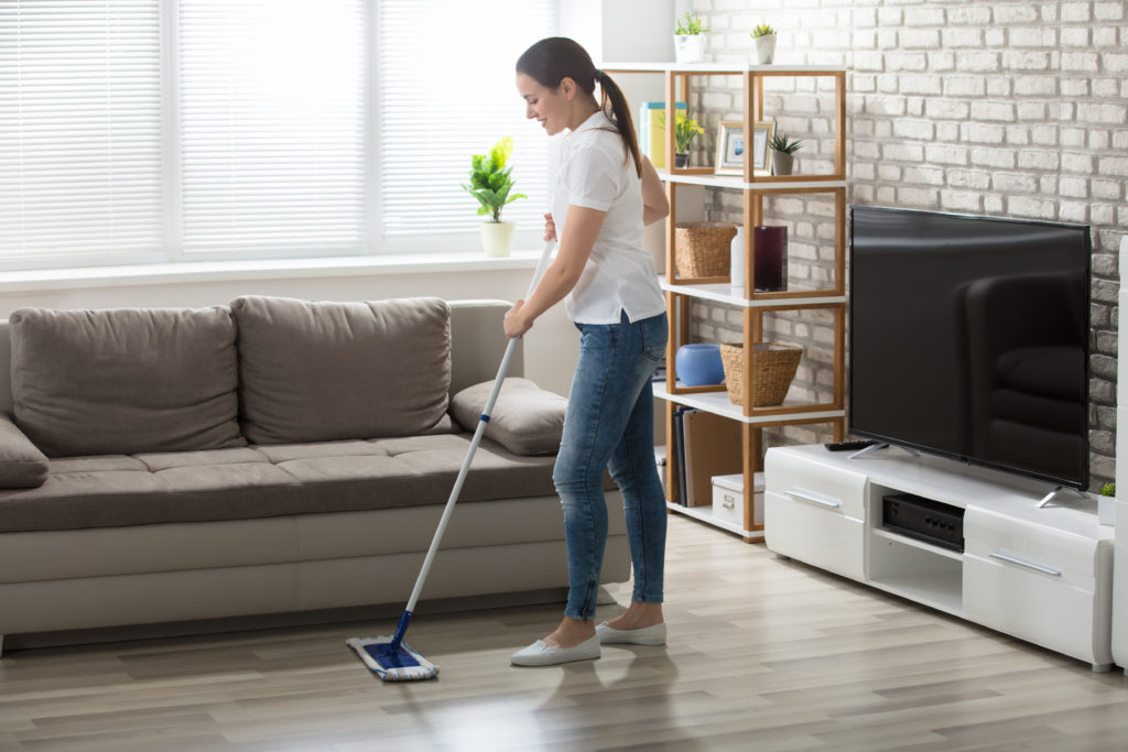 Cleaning to prepare to list your home