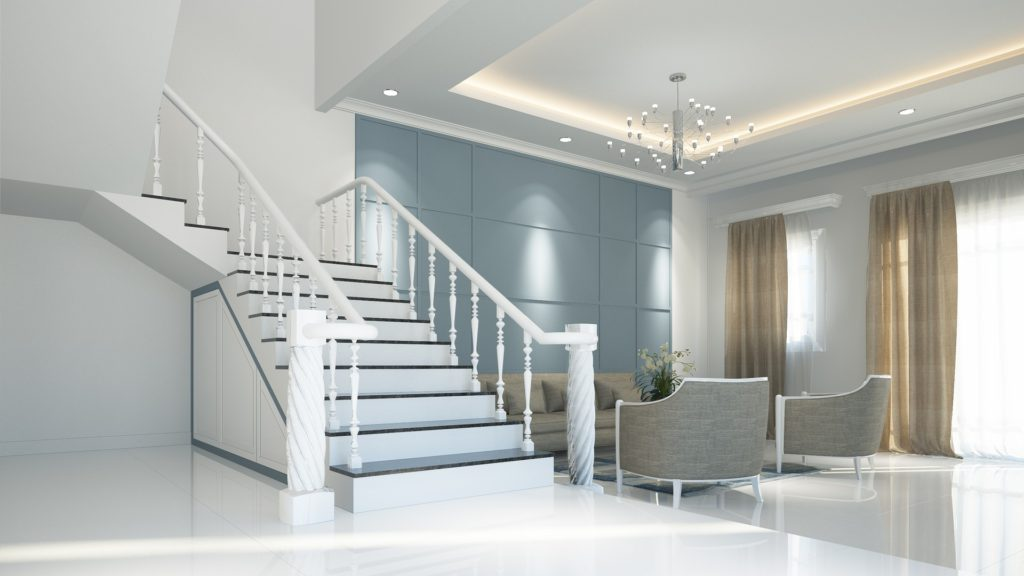 Creating a focal wall to stage your home to sell