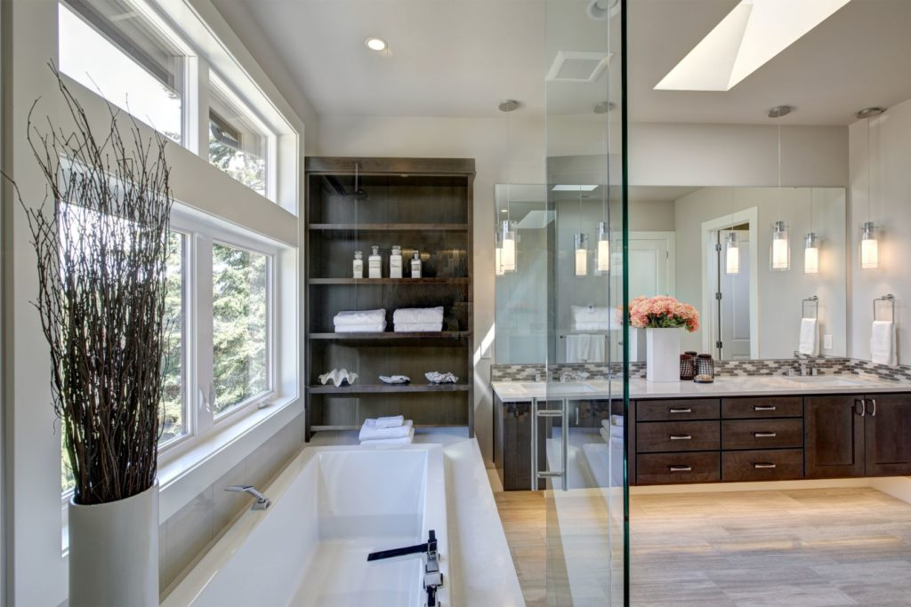 Staging Master Bathroom