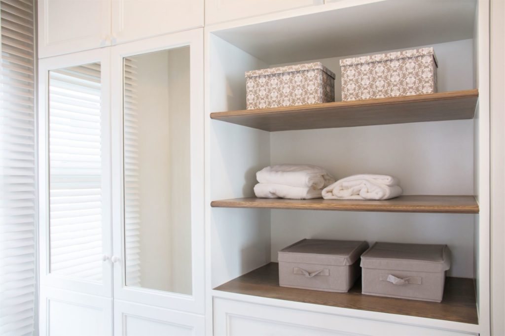 Staging Organizing Closets