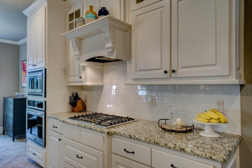 kitchen remodel subway tile backsplash