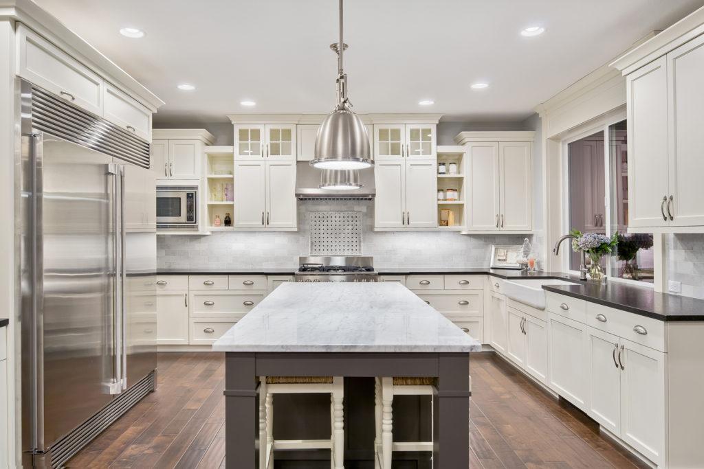 kitchen redesign hardwood flooring