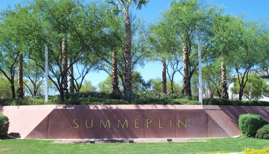 summerlin sign